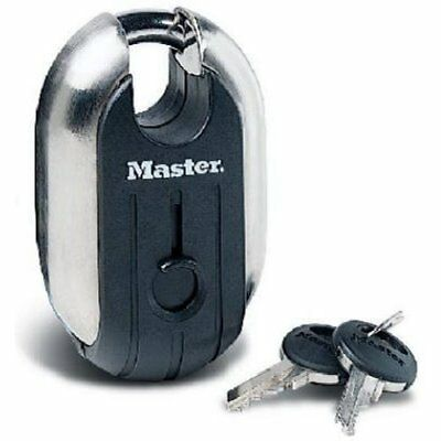 Master Lock 187XD Titanium Padlock, 2-5/16-inch Wide, Black New