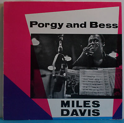 MILES DAVIS Porgy And Bess - UK LP on CBS - Big Band Modal Jazz Gil Evans