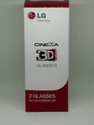 LG Cinema 3D Glasses 2 Pairs Boxed