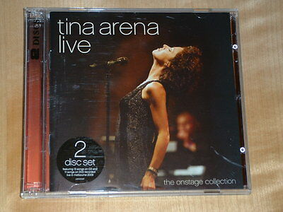Tina Arena Live - The Onstage Collection - 2 disc set (cd/DVD)