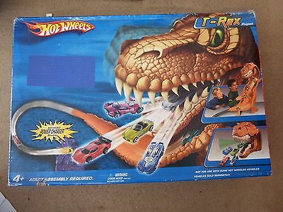 Hot Wheels T-Rex Playset New In Sealed Box