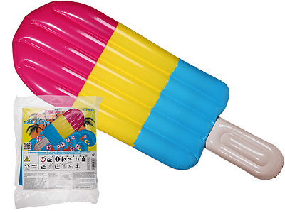 Inflatable Ice Lolly - Swimming Pool Float - Air Mattress Holiday