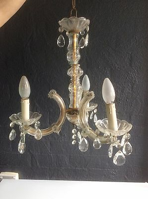 Lovely Decorative Vintage Crystal Style Chandelier Ceiling -3156
