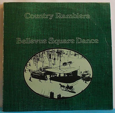 COUNTRY RAMBLERS Bellevue Square Dance - Orig Swiss LP - Private Bluegrass Folk