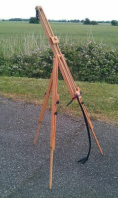 High Quality DALER ROWNEY - Fully Adjustable Beech Wood Artist Easel - EXCELLENT