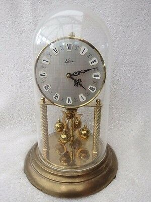 Large Vintage Kern Torsion/anniversary Clock For Tlc