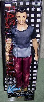 Barbie Style Fashionistas KEN's Friend Doll Color Blocked Cool #6 New