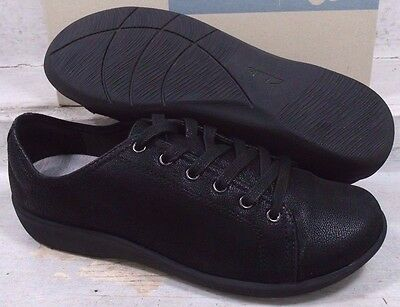 Clarks Cloud Steppers Womens Sillian Glory Black Lace Up Shoes 13089 size 6.5 M