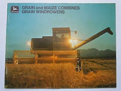 John Deere Grain & Maize Combines 1972 3300,4400,6600,7700