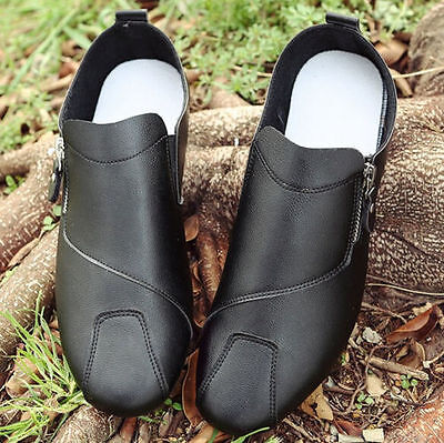 Men's Summer Casual Faux Leather Slip Ons Driving Moccasins Loafers Shoes-40#