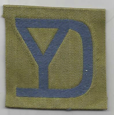 WW 1 US Army 26th Division Liberty Loan Patch Inv# 1234