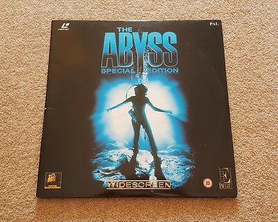 The Abyss Special Edition (Gatefold) Laserdisc - Pal