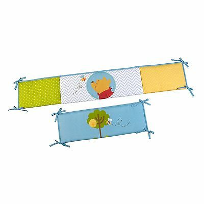 Disney Baby Winnie the Pooh's Play Day Secure Me 4 Piece Infant Crib Bumper
