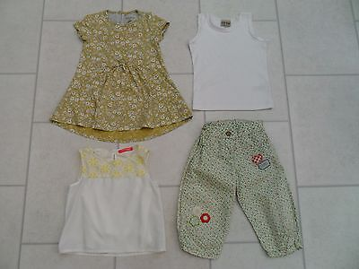 Girls Blouse, Next Dress, Trousers & Top Summer Bundle Age 2/3 Years VGC