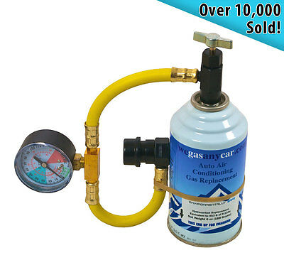 Universal Aircon Top up Recharge Gas Refill Kit for Vauxhall cars