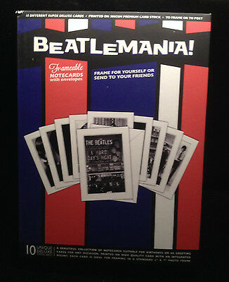 NEW Beatlemania! Frameable Notecards with Envelopes