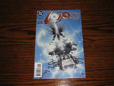 DC - LOBO In the Chair Special #1 Comic!!  1994   VF