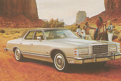 1977 Ford LTD 4-Dr Landau Postcard