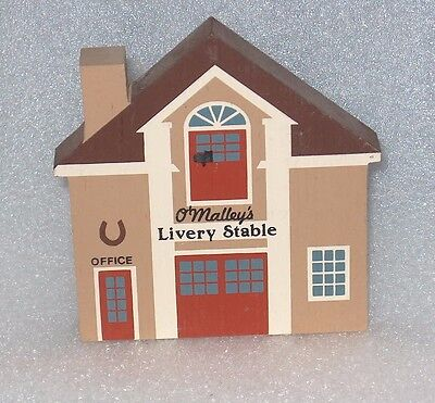 """The Cat's Meow   Series Iv """" O' Malley's Livery Stable""""    Faline 91"""