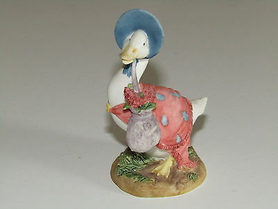 Border Fine Arts Beatrix Potter Jemina Puddle-duck bag of herbs miniature figure