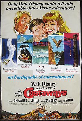In Search Of The Castaways 1962 Hayley Mills Maurice Chevalier US Press Book