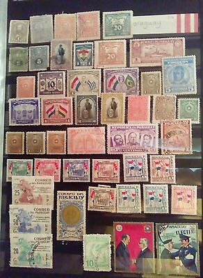 Stamps Used Mm Paraguay