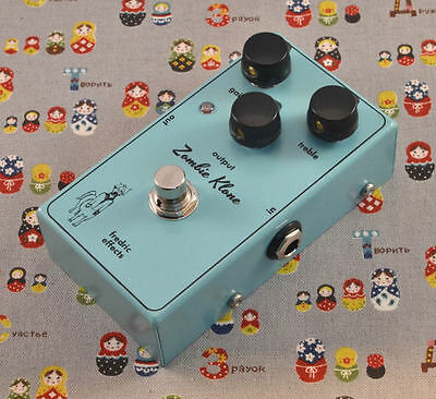 Fredric Effects Zombie Klone Klon clone UK-made boutique overdrive pedal rare