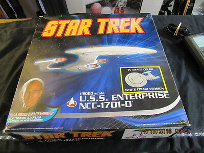 Super Rare Star Trek Uss Enterprise Ncc-1701-D Diamond Series