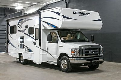 2017 Gulfstream Conquest 6237 Smaller Class C Motorhome RV Ford Chassis