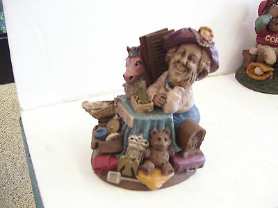 Lee Sievers Gnome--GARAGE SALE---Dated 1992--Edition #11--No COA