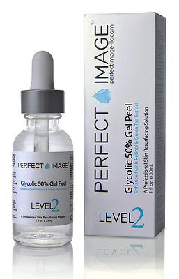 PERFECT IMAGE Glycolic 50% Gel Peel - Enhanced with Retinol & Green Tea Extract