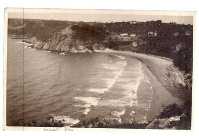 Caswell Bay, Gower, Swansea, S. Wales vintage postcard c.1910/20?   unposted