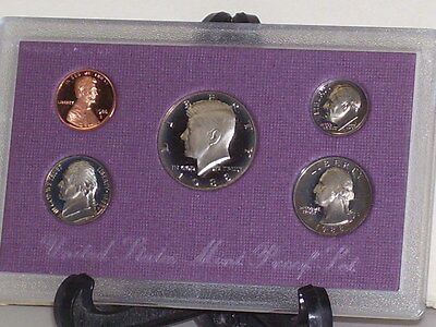 United States 1988 Uncirculated Proof Coin Set Brand New in Package