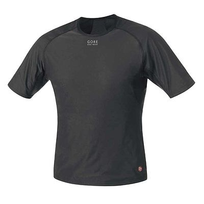 Gore Bike Wear, Base layer WS, Shirt, (UWSHMS9900), Black, XL