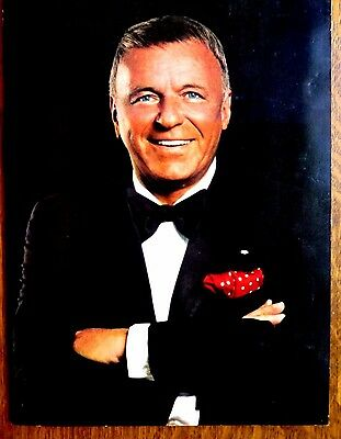 FRANK SINATRA 1980's Deluxe Program PHOTO PACKED w/ Friends Large Q&A Section