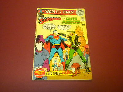 WORLD'S FINEST #210 DC Comics 1972 Superman