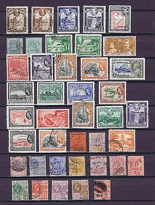 D3981 BRITISH GUIANA an useful collection mostly used some MH