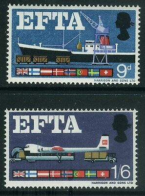 1967  European  Free Trade Association  Set  Sg 715-716  Unmounted Mint