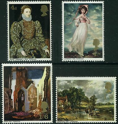 1968  British  Paintings  Set  Sg 771-4   Unmounted Mint