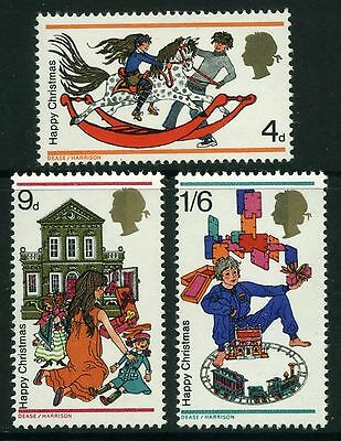 1968  Christmas Toys  Set  Sg 775-777   Unmounted Mint