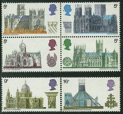 1969  Cathedrals Set   Sg 796 - 801  Unmounted Mint