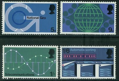 1969  P.o.  Technology Set  Sg 808-811    Unmounted Mint