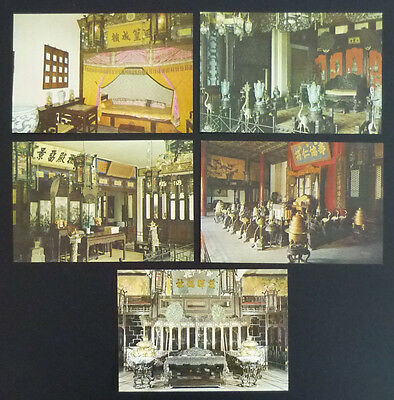 CHINA - NICE LOT OF POSTCARDS (ALL UNUSED)! interior home house J7