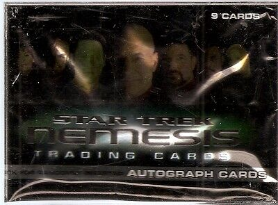 2002 Rittenhouse Star Trek Nemesis Card Set (72 cards)