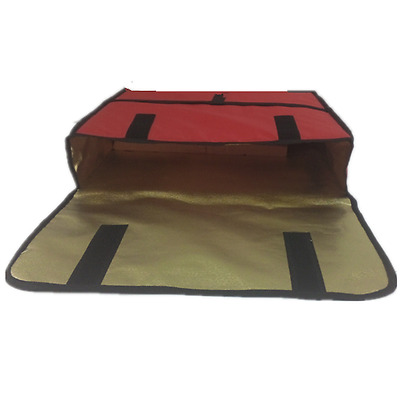 """Pizza Delivery Bag Food Storage Thermal Insulated Can Holds 2 24"""" Pizzas Pies"""