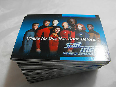 Star Trek The Next Generation Complete Basic Set Of 120 Cards By Impel