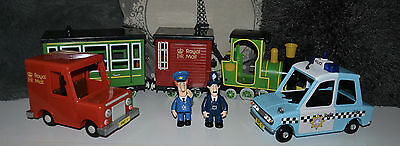 Postman Pat Vehicles and Figures Bundle VERY GOOD CONDITION