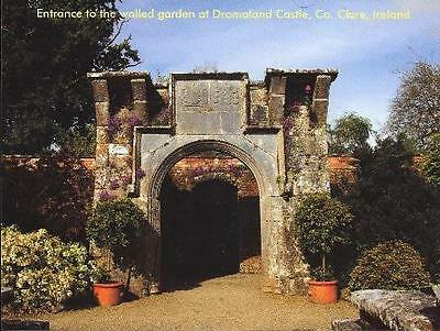 Postcard Walled garden at Dromoland Castle Co. Clare Ireland