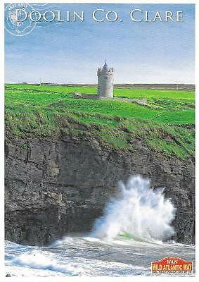 Postcard Doonagore Tower Castle Doolin Co. Clare Ireland
