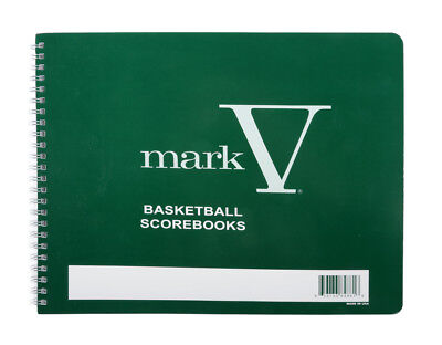 Rawlings Scoremaster Mark V Basketball Scorebook